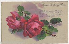 C. Klein ?, Flowers, Roses, Regent Series Art Postcard, B501