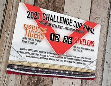 More details for 2021 challenge cup final st.helens sublimated wall man cave plaque