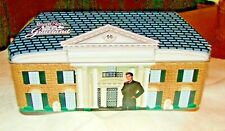 Elvis Presley at Graceland with Pink Cadillac, Russell Stover Candy Tin Box 2006