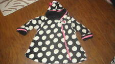 CORKY & CO COMPANY GIRLS BLACK WHITE POLKA DOT COAT 6X