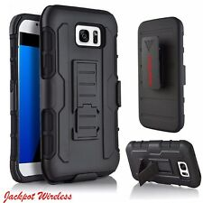 For Samsung Galaxy S6 Edge Plus Shockproof Heavy Duty Clip Holster Stand Case