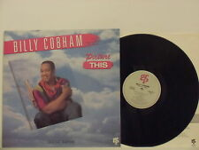 BILLY COBHAM disco LP 33 giri PICTURE THIS  made in CANADA 1987GRP + innersleeve