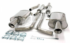 Audi A4 (B6) 2WD 1.8T Estate 01-05 Stainless Jetex Half Sys 44DH4R