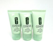 Lot/3 Clinique ~ 7 Day Scrub Cream ~ Rinse - Off Formula ~ 1 Oz x 3 ~