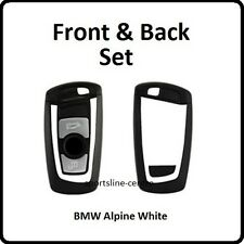 BLANC BMW KEY Vinyle Wrap Autocollant F30 F35 F20 F10 F18 1 2 3 série 5 M Sport Kaw