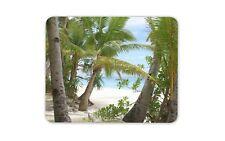 Fantastica Spiaggia Tappetino Mouse Pad-SABBIA di mare esotico Palma Divertente Regalo Computer #13078