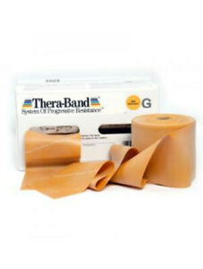 Thera-Band® 3,0 m Widerstand extrem schwer Farbe Gold Theraband Teraband