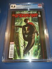 Ultimate Spider-man #2 3rd Solo Miles Morales 1st Ganke Lee Key CGC 9.6 NM+ Wow