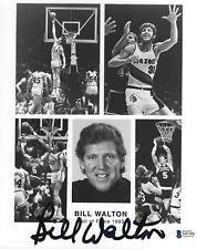 Bill Walton Signed Basketball 8x10 Photo BAS Beckett COA UCLA Picture Autograph
