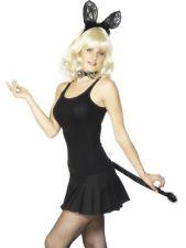 Sexy Cat Kit sequin noir-Femme robe fantaisie