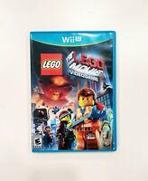 The LEGO Movie Videogame (Nintendo Wii U) CIB 2 in 1