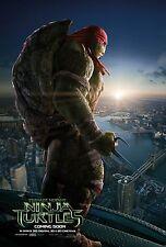 Teenage Mutant Ninja Turtles TMNT (2014) Movie Poster (24x36) - Raphael NEW v2