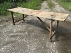 1940s Carnival Folding Farmhouse Table Kitchen Wallpaper Country Patio Harvest