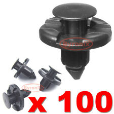 BUMPER SPLASHGUARD INNER WHEEL ARCH LINING WING TRIM CLIPS 8mm FOR NISSAN