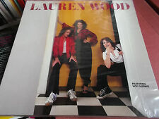 LAUREN WOOD: SAME: S/T: VINYL LP MADE IN U.S.A.: 1979: FEATURING NOVI & ERNIE