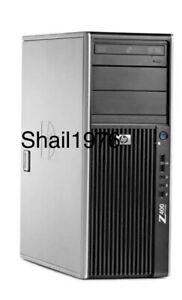HP Workstation Z400 W3565, 3.2Mhz, 8GB Ram,1TB HDD, Nvidia Quadro 4000 Plus .