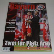 Neues AngebotProgramm FC Bayern München - FC Schalke 04 vom 30.04.2011 - 1.Liga - 2010/2011