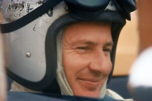 Bruce McLaren Driver Photograph at Laguna Seca