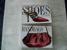 Two Fashion Books _ Shoes by Linda OKeefe & Handbags by Anna Johnson