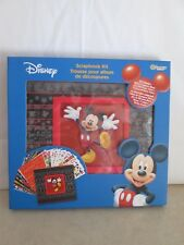 Disney Scrapbook Kit- New With 400 Stickers&12 Mickey Papers