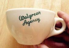 1950 WALGREEN AGENCY RESTAURANT WARE COFFEE MUG, WALGREENS DRUG STORE, VINTAGE