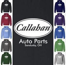 CALLAHAN Auto Parts Hoodie Sweatshirt - Tommy Boy Movie Farley Spade Funny Ohio