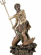 "11.5"" Inch Statue of Poseidon God of the Sea Greek Mythology Figurine Figure"