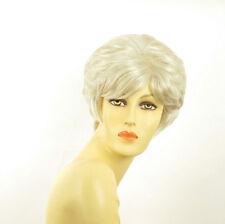Perruque femme blanche cheveux lisses ref DANA 60