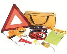 Kit d'urgence voiture Triangle Câbles Veste de sécurité Lampe torche Pompe