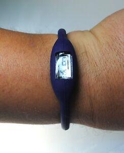 Sportuhr Uhr Ionic Watch Armbanduhr Plastikuhr - Dunkelblau Navy Blau Kinderuhr