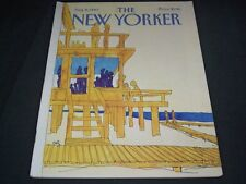 1983 AUGUST 8 NEW YORKER MAGAZINE - BEAUTIFUL FRONT COVER FOR FRAMING - C 545