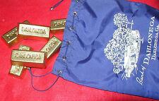 "DAHLONEGA ""GOLD"" Souvenir INGOT Gold Rush Bar"