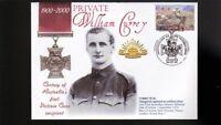 AUSTRALIAN ANZAC VICTORIA CROSS 100th ANNIV COV, Pvt WILLIAM CURREY