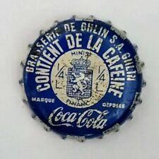 COCA COLA GHLIN old usued belgien kronkorken capsule bottle cap