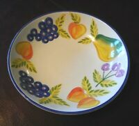 "ARTISTS TOUCH ORCHARD JUBILEE 10"" Round Pasta or Vegetable Serving Bowl"
