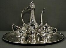 Tiffany Sterling Tea Set & Tray     PERSIAN           86 OZ