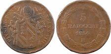 Vatican et Etats Pontificaux, Pie IX,  5 Baiocchi, 1854, Rome - 2