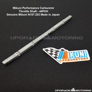 Mikuni 44PHH Carb Throttle Shaft #N107.202 Datsun 240Z 280Z 510 2000 S30 Solex