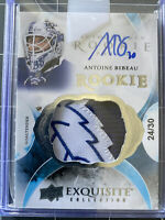 2015-16 Cup #107 Antoine Bibeau Exquisite RC Auto Patch 9 /30 Maple Leafs