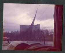 C1980s Original Photo: Russian Space Monument in Moscow