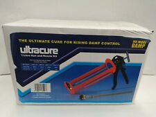 Cartridge Gun & Nozzle for 1L DAMPSOLVE & ULTRACURE Damp PROOFING DPC Cream