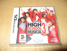 DISNEY SING IT HIGH SCHOOL MUSICAL 3: ultimo anno (Nintendo DS, 2008) NUOVO & SEAL