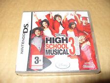 Disney Sing It High School Musical 3: último año (Nintendo DS, 2008) Nuevo y Sellado