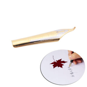 1pc x450 silver gold fountain pen curved tip diy for jinhao vzFSAUEBAUBDDD