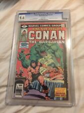Conan The Barbarian CGC 9.6 Annual 5 Awesome Cover!!!!