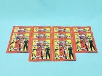 Panini Schwarz Rot Gold 10//20//30//50 oder 100 Sticker aussuchen aus allen 333
