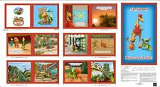 .7 Yard Quilt Cotton Fabric - QT Dinosaur Train Buddy's Big Adventure Book Panel