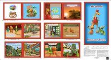 .7 Yard Quilt Cotton Fabric - QT Dinosaur Train Buddy's Big Adventure Book Panel