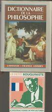 Dictionnaire de la philosophie par Didier Julia /F. Loisirs / Format Poche / R13