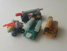 unofficial Transformer toys lot of 4 vintage